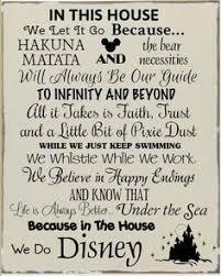 in this house we do disney disney quotes disney dream disney