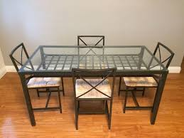 ikea granas table and 4 chairs black