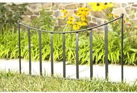 Amazon Com Cobraco Black Canterbury Fence Border Fb102 Garden Border Edging Garden Outdoor