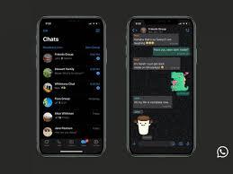 WhatsApp: disponibile la Dark Mode per gli utenti Android e iOS