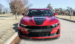 2020 2019 Chevy Camaro Ss Center Stripes Hood Decals Overdrive Rally Racing Stripes Kit