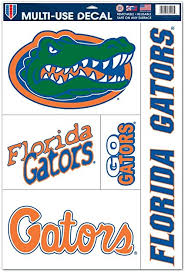 Amazon Com Florida Gators Official Ncaa 11 Inch X 17 Inch Multiuse Car Decal By Wincraft 024336 Sports Fan Wall Decor Stickers Sports Outdoors