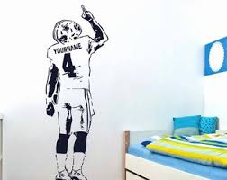 Football Wall Decal Etsy