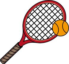 無料イラスト] テニスラケットとテニスボール - パブリックドメインQ ...