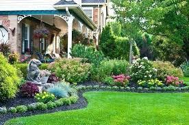 flower beds beautiful garden design
