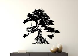 World Menagerie Bonsai Tree Vinyl Wall Decal Wayfair