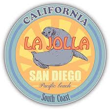Amazon Com Jjh Inc San Diego California Usa South Coast Travel Vinyl Decal Sticker Waterproof Car Decal Bumper Sticker 5 Kitchen Dining