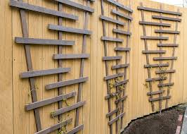 chic and easy diy garden trellis