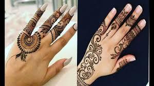 mehndi design 2018 arabic easy for back hand