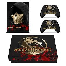 Game Mortal Kombat 11 Skin Sticker Decal For Microsoft Xbox One X Console And Controller For Xbox One X Skin Sticker Vinyl Stickers Aliexpress