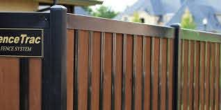 Build A Wood And Metal Fence The Easy Way