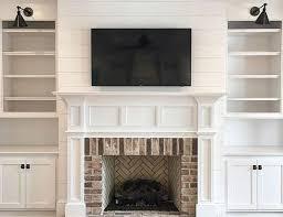 35 gorgeous natural brick fireplace