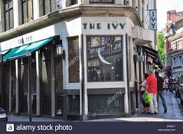 The Club at the Ivy, West Street, Cambridge Circus, West End, City of Stock  Photo - Alamy