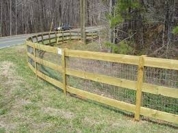 Top Quality Wood Rail Fences By First Fence Of Georgia Farm Fence Farm Fence Diy Building A Fence