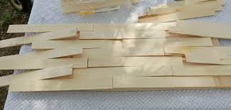 easy diy wood shim address sign