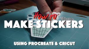 Video Tutorial How To Make Stickers Using The Cricut Machine