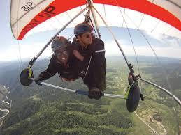 hang gliding still hangs