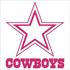 Dallas Cowboys Nfl Window Sticker Decal Buy Online In Macedonia At Desertcart