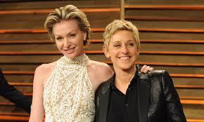 Ellen DeGeneres and Portia De Rossi celebrate 12th wedding anniversary:  look back at their big day   HELLO!