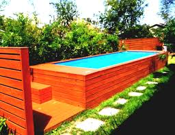 Image Of Simple Backyard Design With Small Swimming Pool Idea Pools Designs For Backyards Landscaping And Ideas Tree Houses Patios Plans Fire Pit Easy Garden Crismatec Com