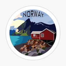 Norway Stickers Redbubble