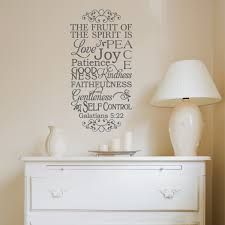 Galatians 5 22 Fruit Of Spirit Wall Decal A Great Impression
