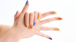 colourful nail polish choice wallpaper