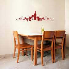 Vine Wine Display Wall Decal Wall Decal World