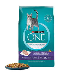 purina one hairball formula cat food review