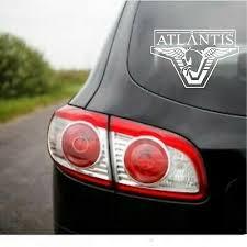 Details About Stargate Atlantis Logo Decal Sticker Car Laptop Truck Scifi Sg1 Wraith Wormhole In 2020 Stargate Atlantis Car Stickers Decals Stickers