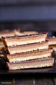 homemade twix bars gluten free paleo
