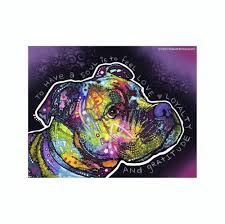 Pit Bull To Have A Soul Is To Feel Love Loyalty Dean Russo Vinyl Dog C Doggy Style Gifts