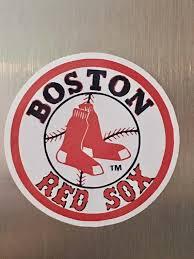 Baston Red Sox Car Bumper Truck Laptop Vinyl Decal Sticker Etsy