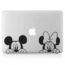 Mickey And Minnie Mouse Laptop Macbook Vinyl Decal Sticker