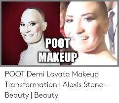 poot demi lovato makeup transformation