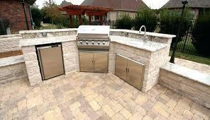 brick patio outdoor kitchen ideas