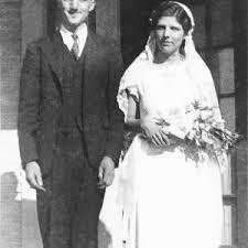 Raymond and Nola Smith, Wedding Day — Calisphere