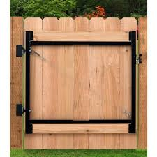 Adjust A Gate Original Series 36 In 60 In Wide Gate Opening Steel Gate Frame Kit Ag36 36 The Home Depot
