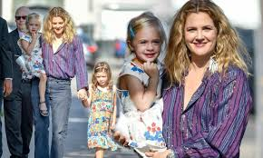Drew Barrymore is joined by daughters ...