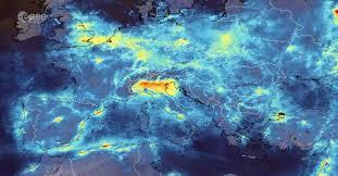 FOTO SATELLITE, Italia ai tempi del Coronavirus. RIDUZIONE DELL ...