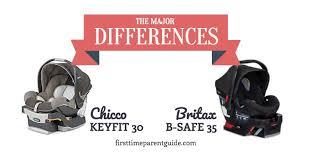the chicco keyfit 30 vs britax b safe 35