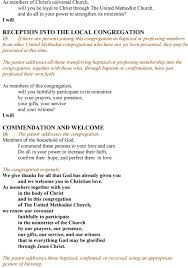 the services of the baptismal enant