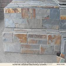 stacked stone fireplace stone cladding