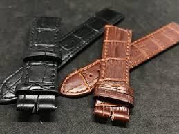 18mm 20mm slim flat omega leather watch