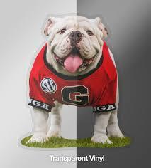 Uga Georgia Bulldogs Sticker Uga X Mascot 4 25 Die Cut Vinyl Phot Wright Photo