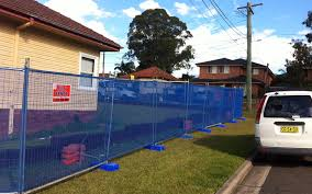 Temporary Fence With Shade Cloth Sydney Sbs Fence