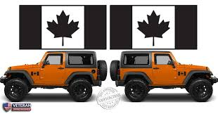 2 6 Or 12 Flag Of Canada Maple Leaf Vinyl Decals Window Door Fit J Roe Graphics And Apparel