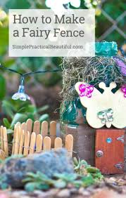 Outdoor Decorating Gardening Make A Simple Diy Fairy Garden Fence Craft With Popsicle Sticks And Wire Video Decor Object Your Daily Dose Of Best Home Decorating Ideas Interior Design Inspiration
