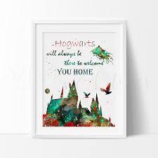 harry potter hogwarts dementor nursery bedroom posters art print