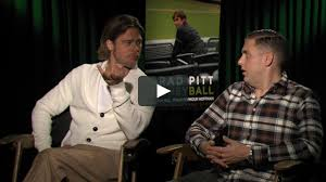 Brad Pitt and Jonah Hill - Interview in ...